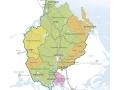 Karta Uppsala län